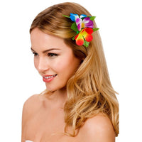 Hawaii Flower Hair Clip, Multi