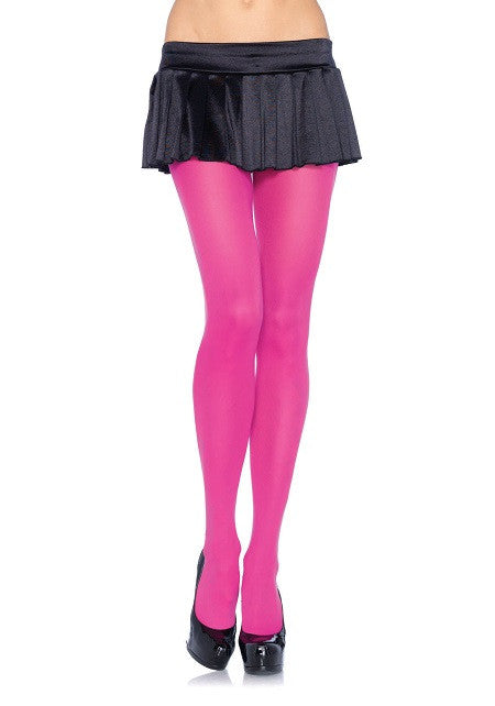 Nylon Tights, Leg Avenue, Fuchsia