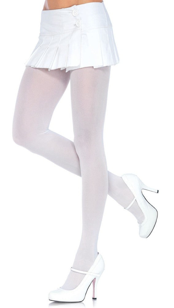 Nylon Tights, Leg Avenue, White