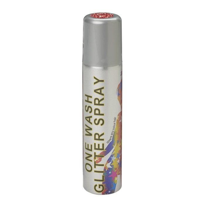 Hair Glitter Spray, Red
