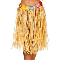 Hula Skirt Authentic Raffia, Plus Size