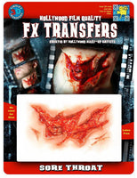 3D, FX Transfers, Sore Throat
