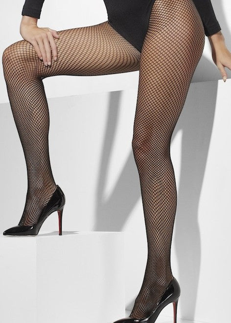 Tights, Fishnet Black