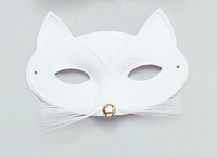 Cat Mask, White