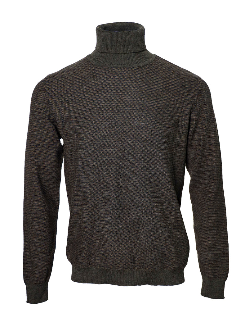 Melar turtleneck, olive green