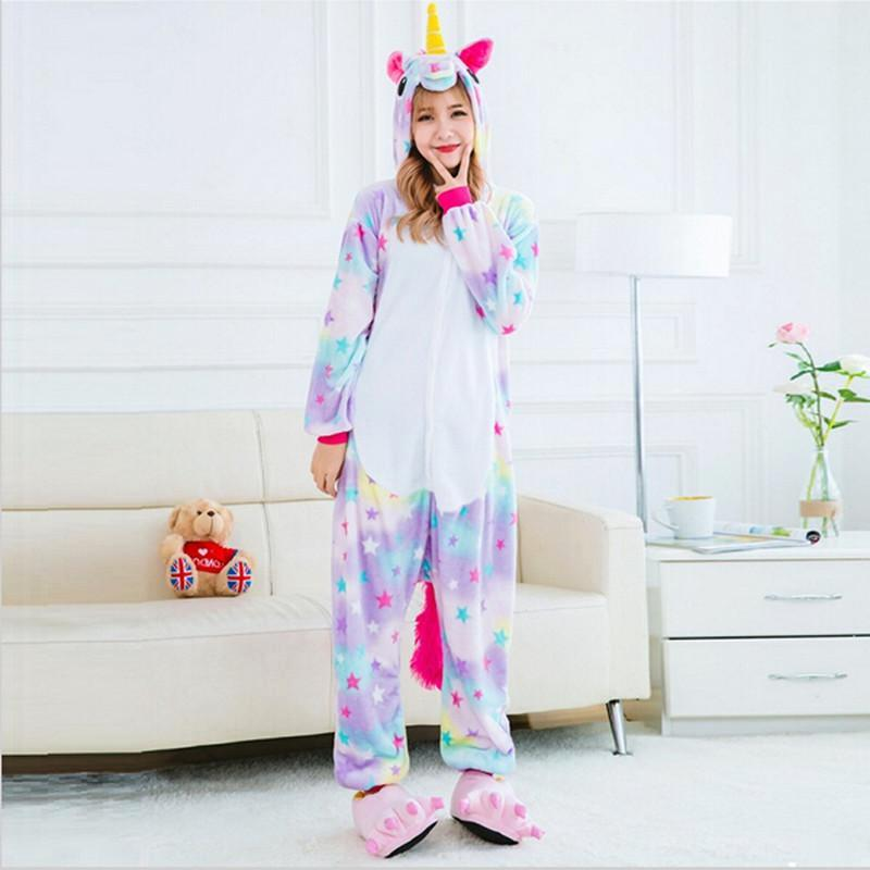 pyjama licorne arc en ciel boutique licorne fandelicorne. Black Bedroom Furniture Sets. Home Design Ideas