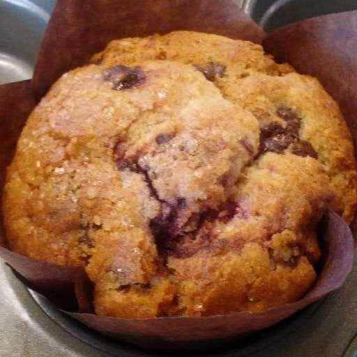Raspberry Chocolate Chip Muffin GF/V (minimum order is 4 muffins)