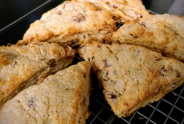 TUESDAY Cranberry Almond Ginger Scone - order by 10pm Monday