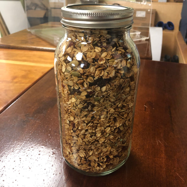 Amazing Granola! (GF & Almost Vegan — contains honey)