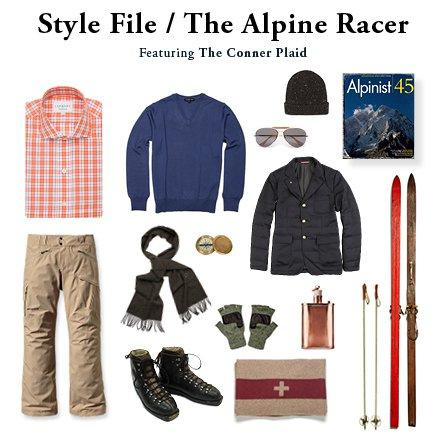 Style File // The Alpine Racer