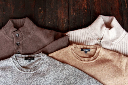 The Knitwear Collection // Heavy Wools