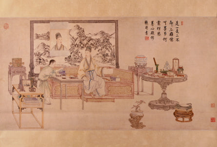 09_Emperor Qianlong Questioning Antiques © The Palace Museum