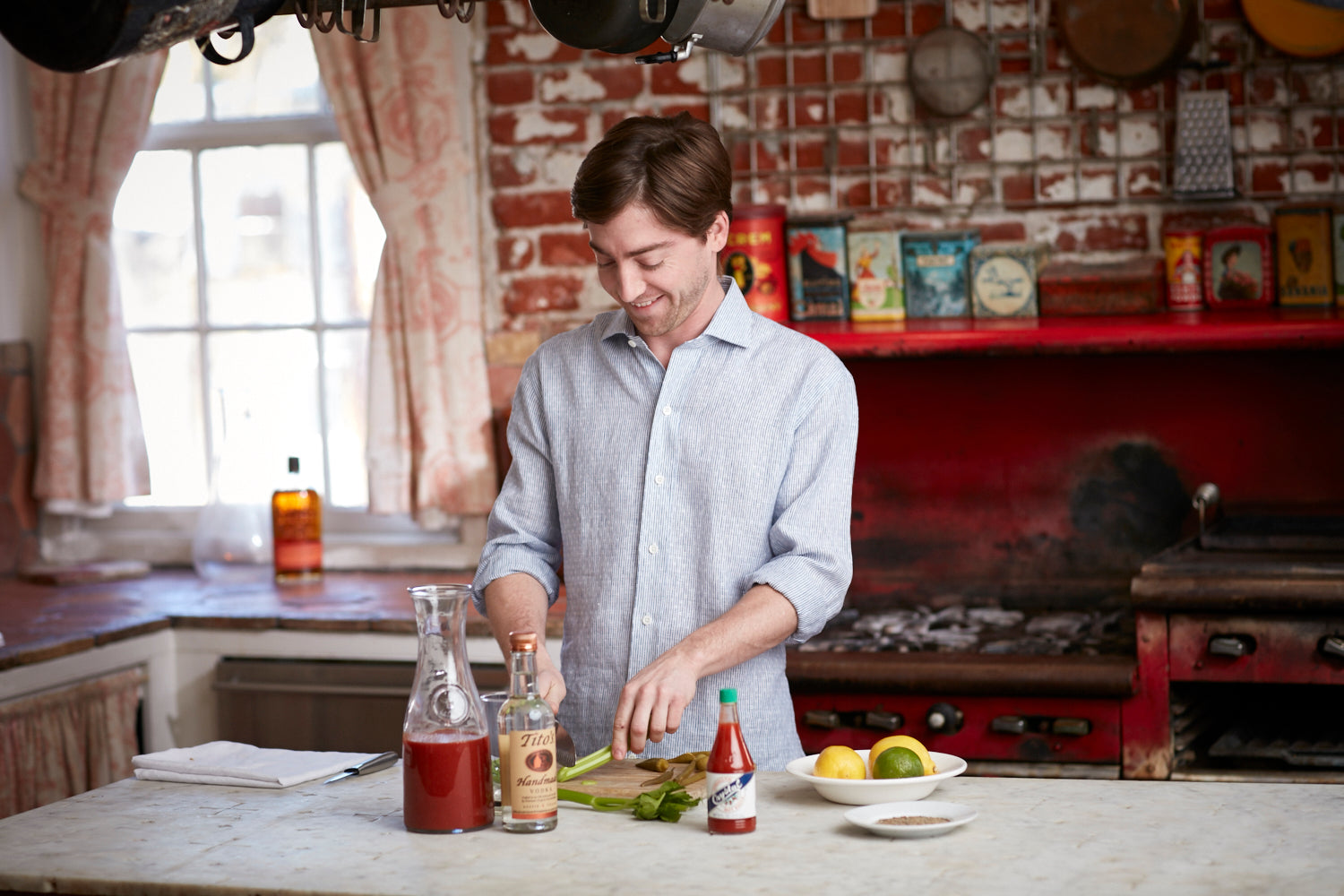 Eric Heigle Makes a Bloody Mary