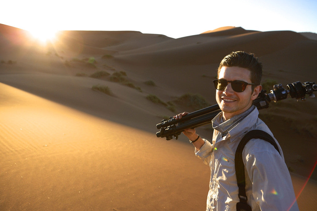 Drew in Namibia