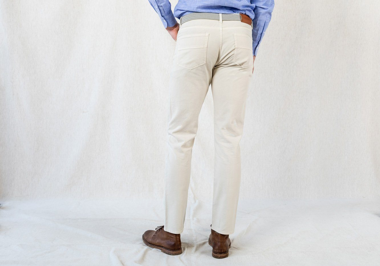 Franklin Tailored Mens Flat Front Corduroy Tyler Trouser