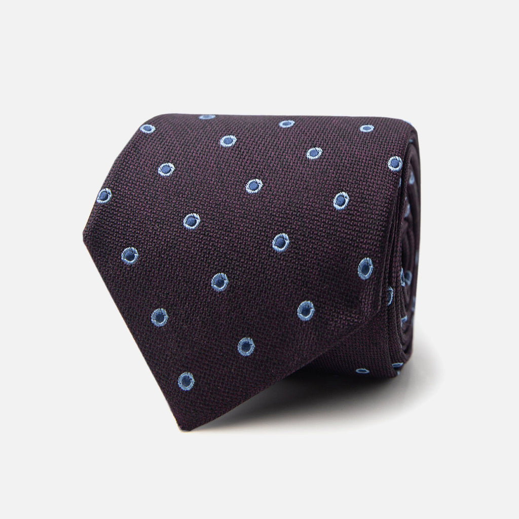 The Plum Bateman Tie Tie- Ledbury