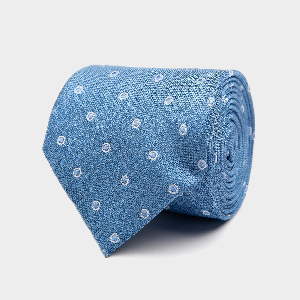 The Dark Blue Bateman Tie Tie- Ledbury