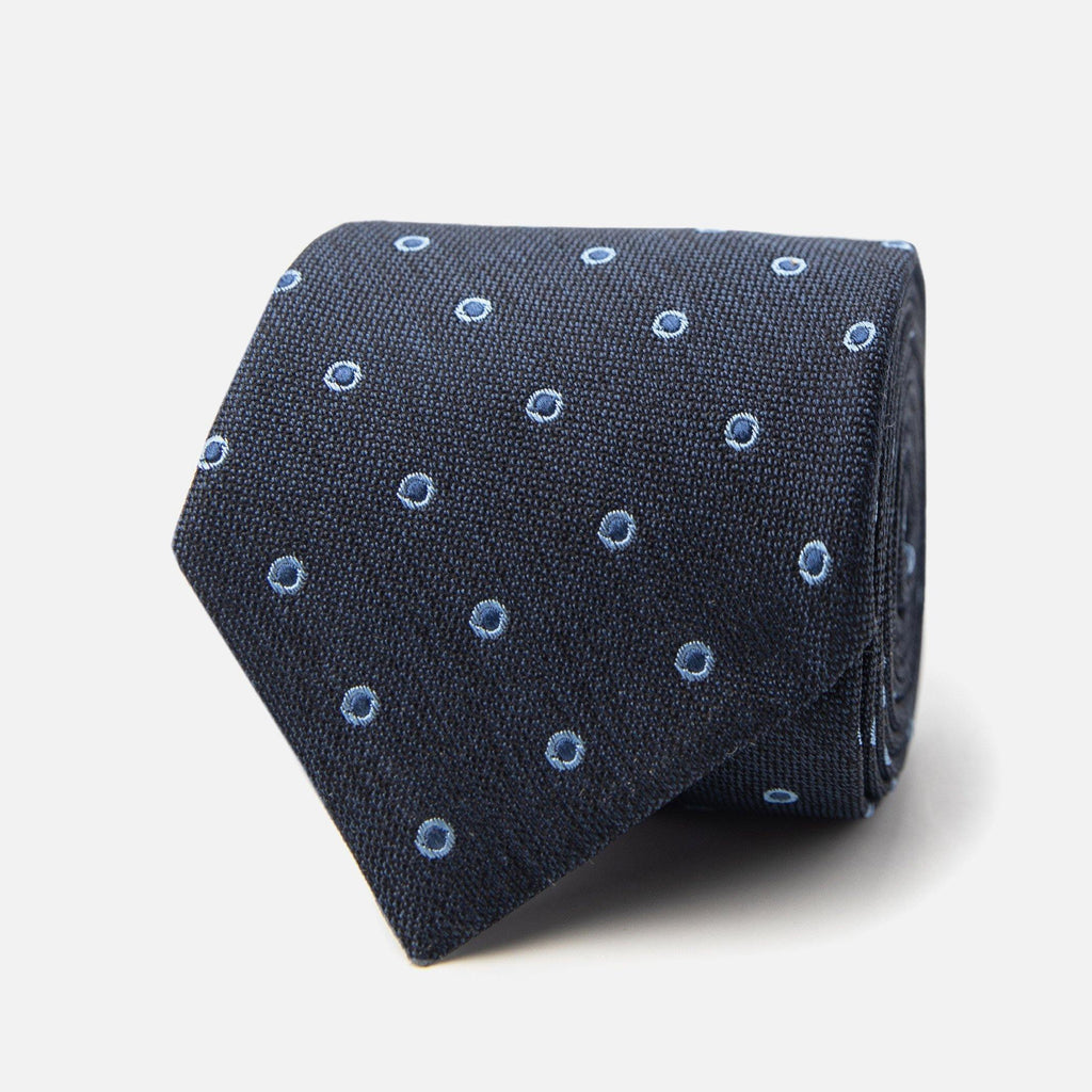 The Navy Bateman Tie Tie- Ledbury