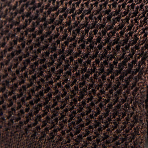 The Brown Harlow Knit Tie | Ledbury Men's Ties & Accessories