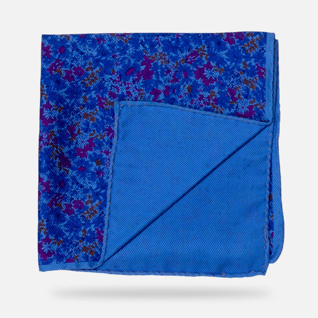 The Blue Torrey Print Pocket Square Pocket Square- Ledbury