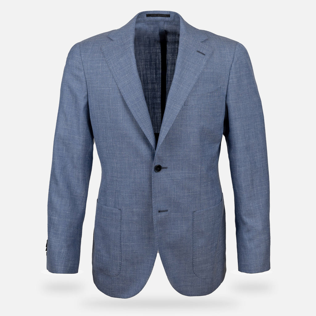 The Light Blue Beckwith Sport Coat Blazer- Ledbury
