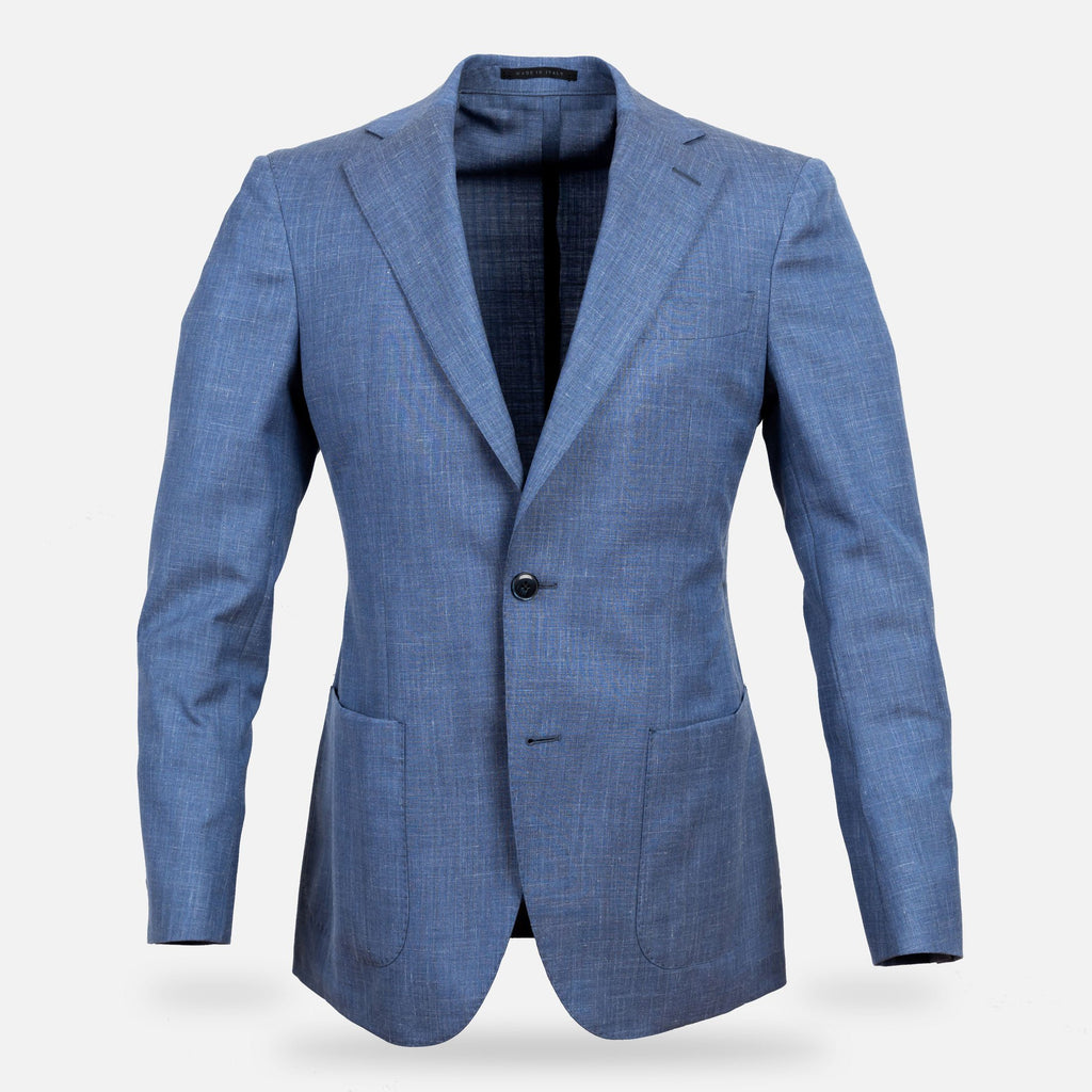 The Light Blue Heather Beckwith Sport Coat Blazer- Ledbury