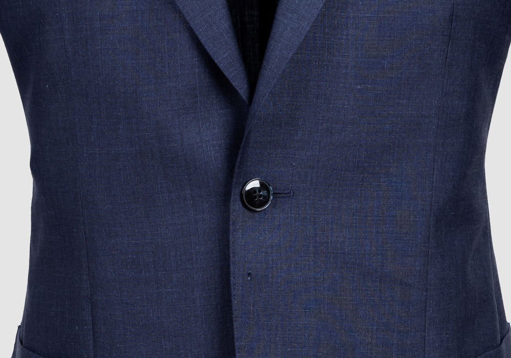 The Dark Blue Heather Beckwith Sport Coat Blazer- Ledbury