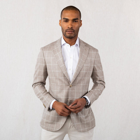 The Stone Kingstowne Windowpane Sport Coat