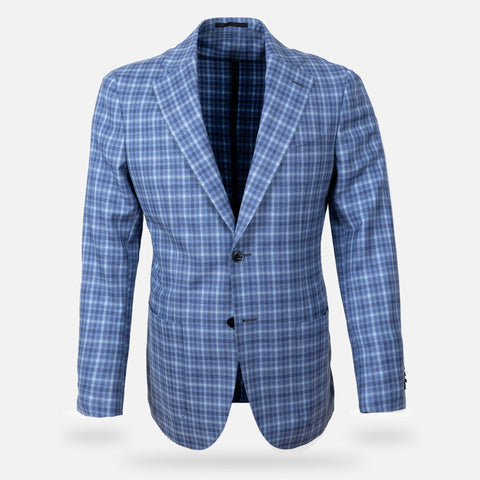 The Blue Nash Check Sport Coat