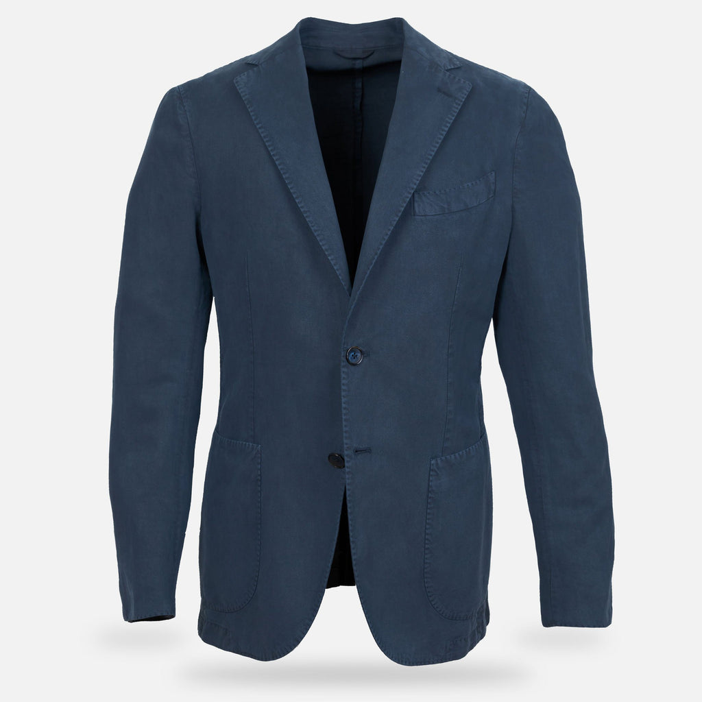 The Navy Whittier Sport Coat Blazer- Ledbury