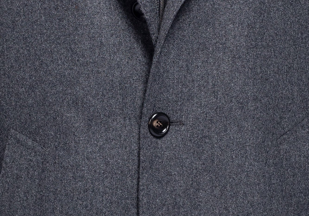 The Charcoal Devonshire Coat Blazer- Ledbury