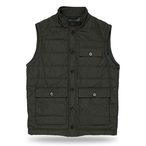 The Dark Olive Bartlett Vest