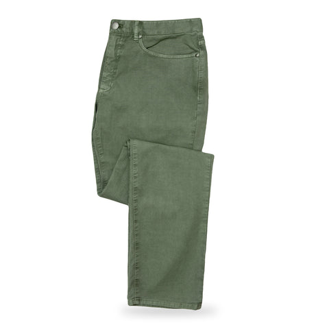 The Moss Franklin 5 Pocket Washed Twill Pant | Ledbury Men's Pants
