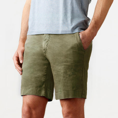 The Olivine Richmond Washed Twill Short