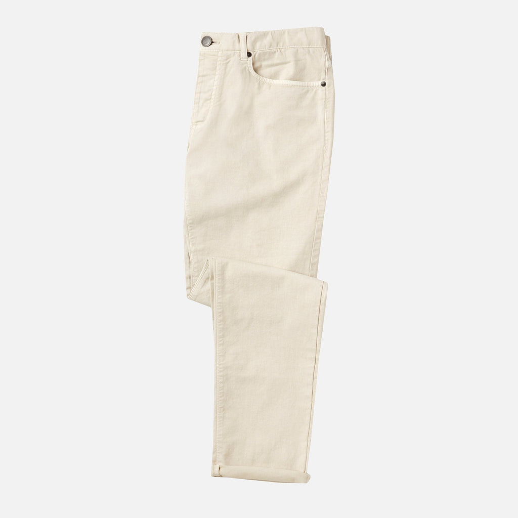 The Stone Franklin 5-Pocket Washed Twill Pant Pants- Ledbury