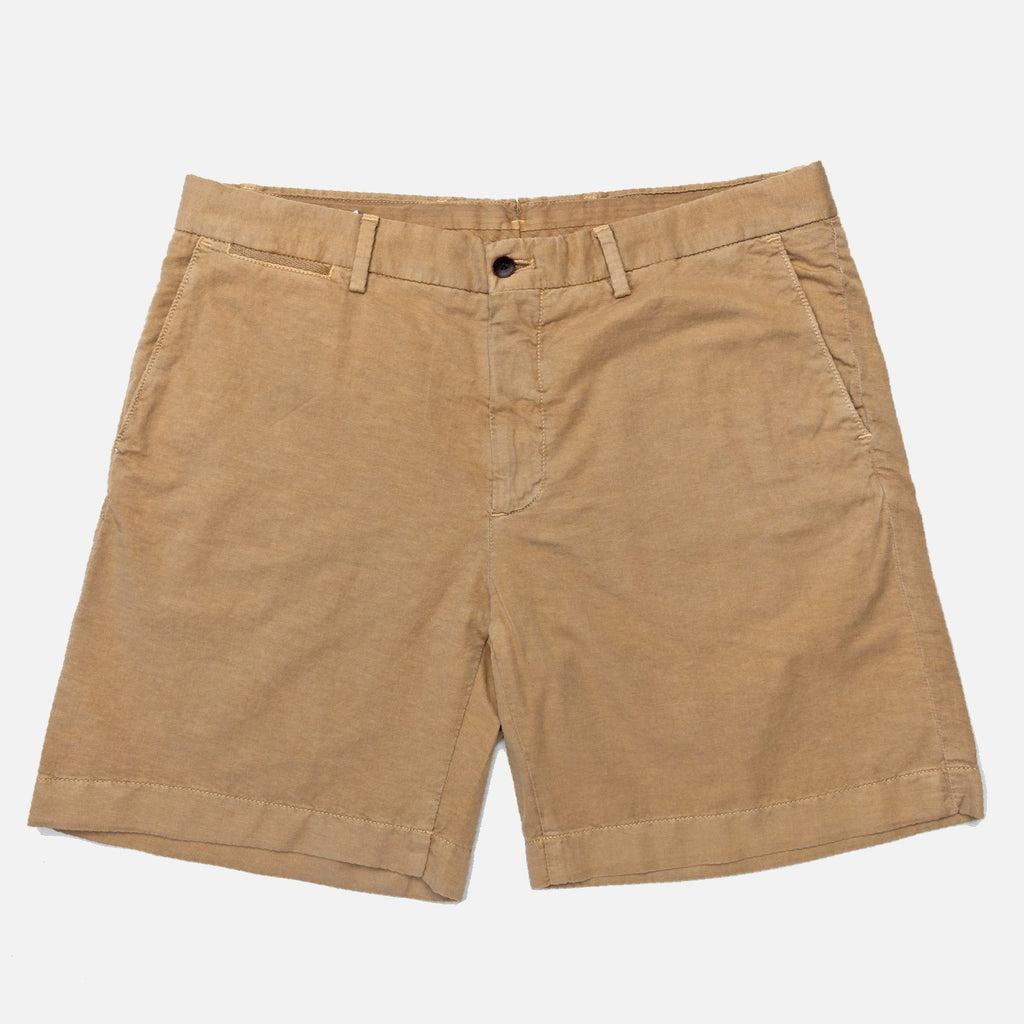 The Sand Richmond Washed Twill Short Shorts- Ledbury