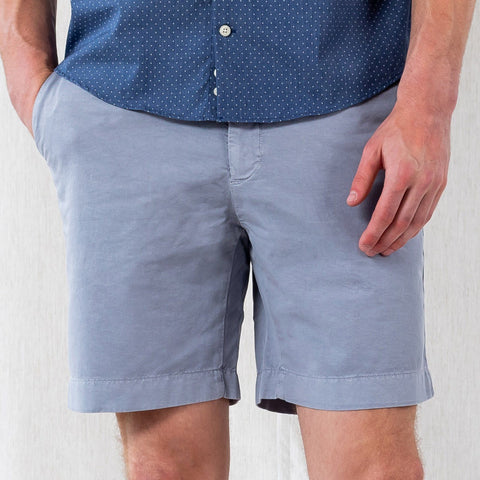 The Dusk Blue Richmond Washed Twill Short