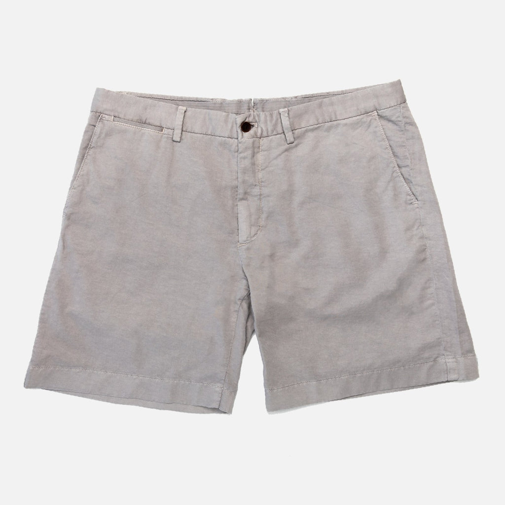 The Granite Richmond Washed Twill Short Shorts- Ledbury