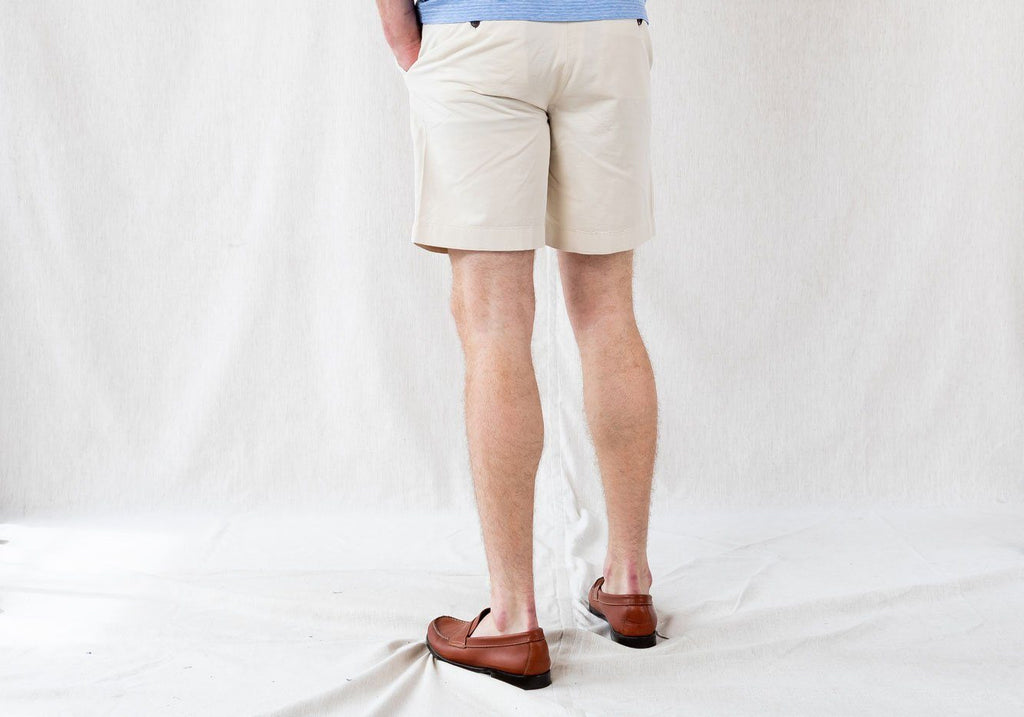 The Stone Richmond Washed Twill Short Shorts- Ledbury