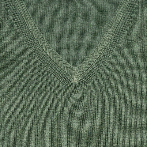The Moss Mansfield V-Neck Sweater