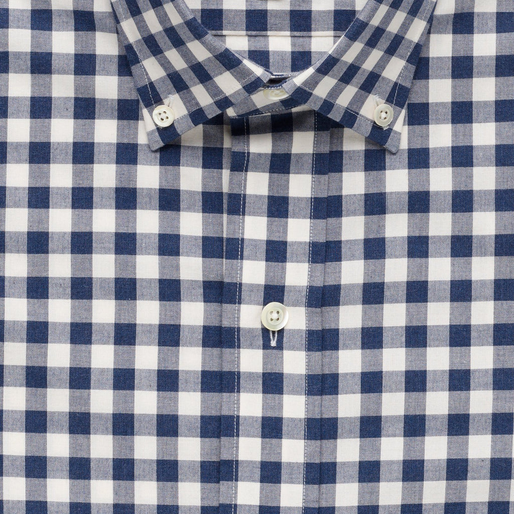 The Navy Rhodes Heathered Gingham