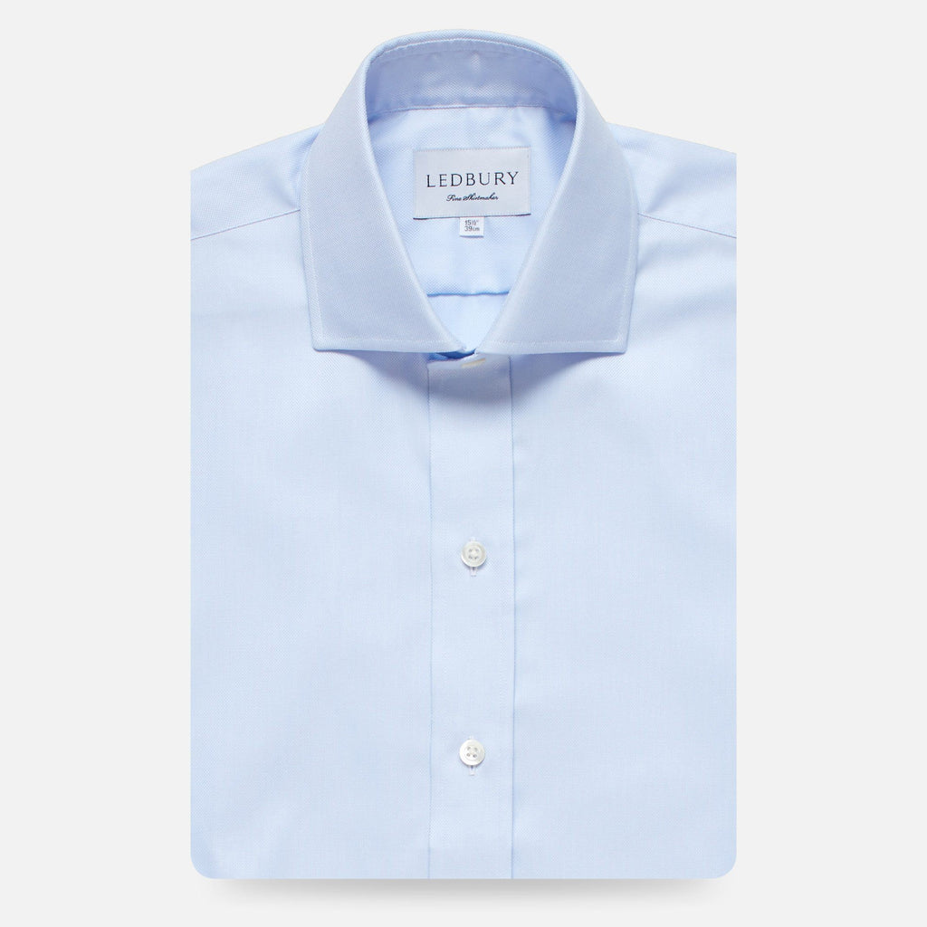 The Blue Brody Oxford Dress Shirt Dress Shirt- Ledbury