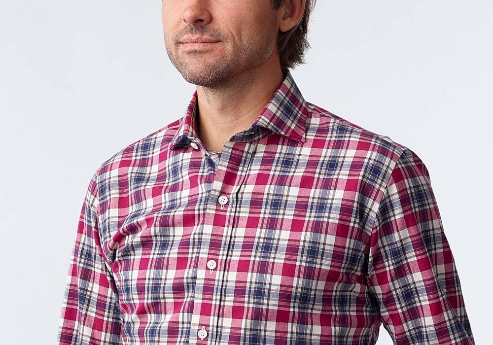 The Berry Beaufait Plaid Casual Shirt