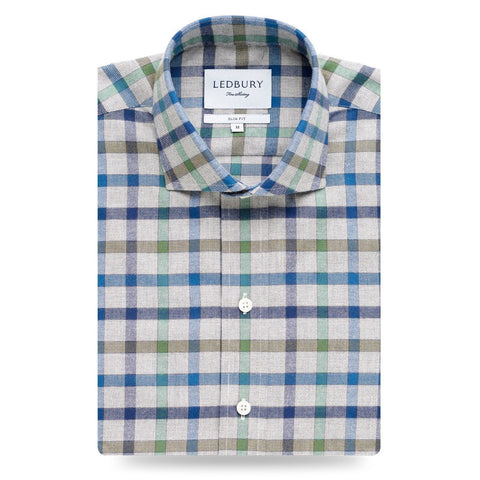 The Devonshire Flannel Casual Shirt