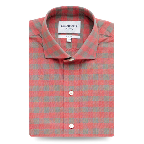 The Belhurst Gingham Dress Shirt
