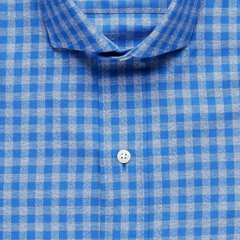 The Talbott Gingham Casual Shirt