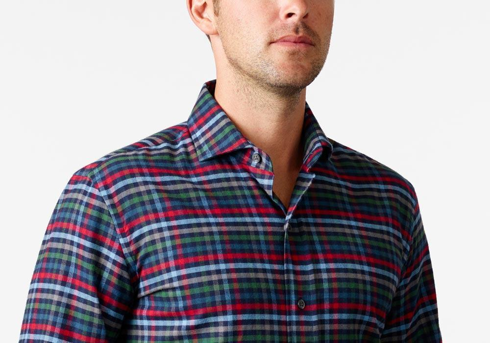 The Red Linwood Flannel Casual Shirt