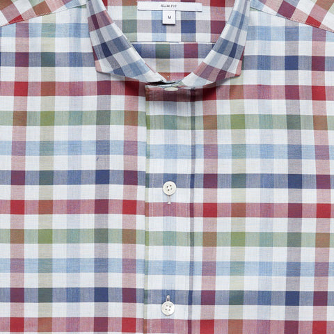The Red Greycourt Gingham Casual Shirt