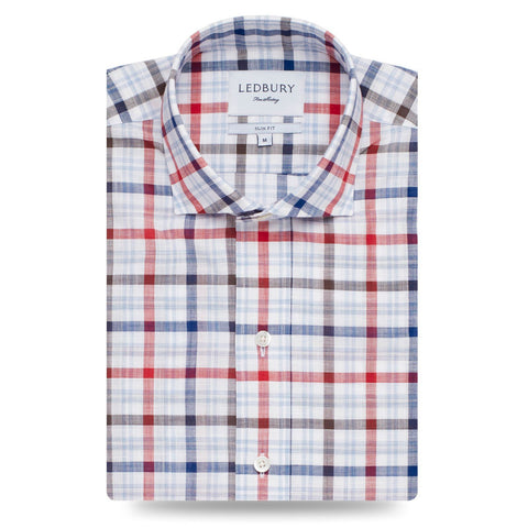 Ledbury | The Concord Check Casual Shirt | Men's Casual Shirt