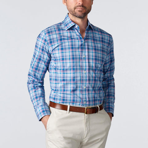 The Plum Waits Plaid Casual Shirt